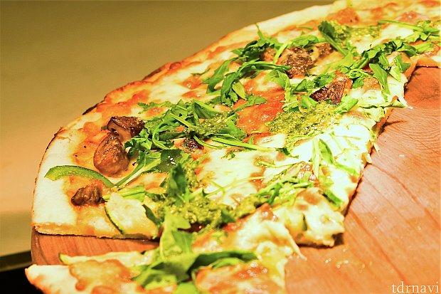 ピザも美味しかったです!