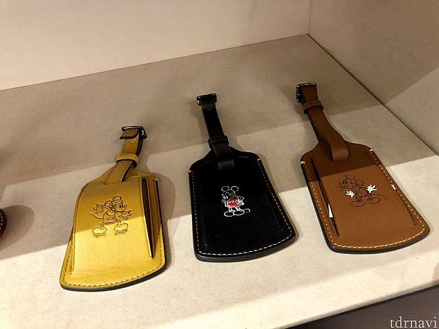 これはスーツケース用のネームタグだったと思います。3種類のカラーチョイスがあります。