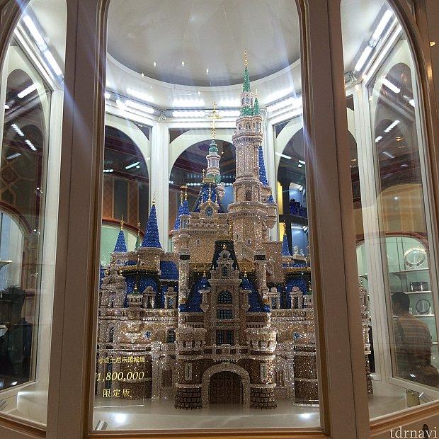 TDRの最高額商品であるシンデレラ城とどちらが高価?!
