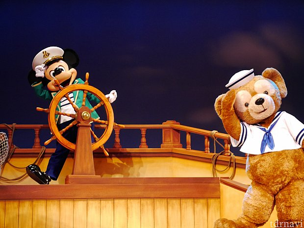 ケープコッドに帰ったら誰に一番に会いたい?という質問にもちろんミッキーは「ミニー!」、ダッフィーは「シェリーメイ!」と答えるのですが、ティッピーの思いもよらない答えに笑ってしまいました!!