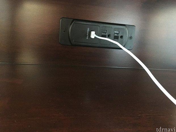 USB差込口が1つしかありませんでした!