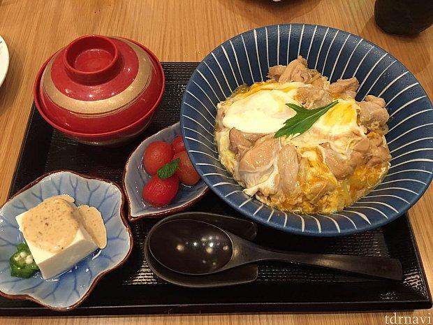 玉子もふわとろで正に日本の味!
