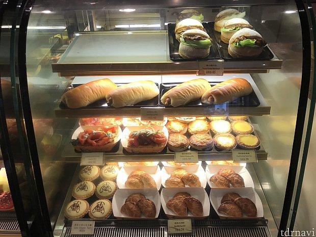 マーケットハウス•ベーカリーのパンです。 2月2日昼間の様子です。 2月2日夜も商品は同じでした。