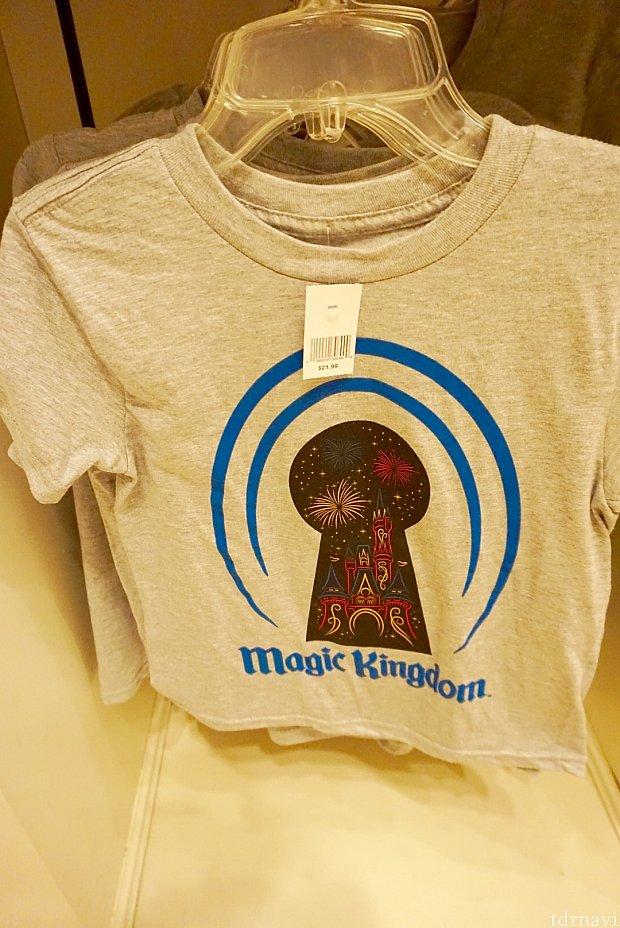 子供用のTシャツ。$21.99