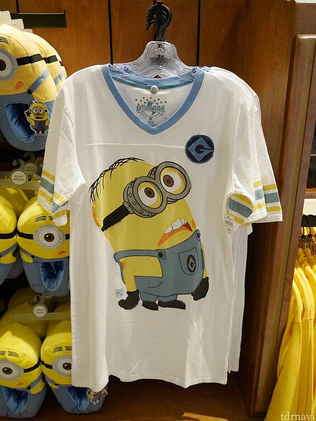 おしりが隠れるくらいの長さのTシャツ$32.95