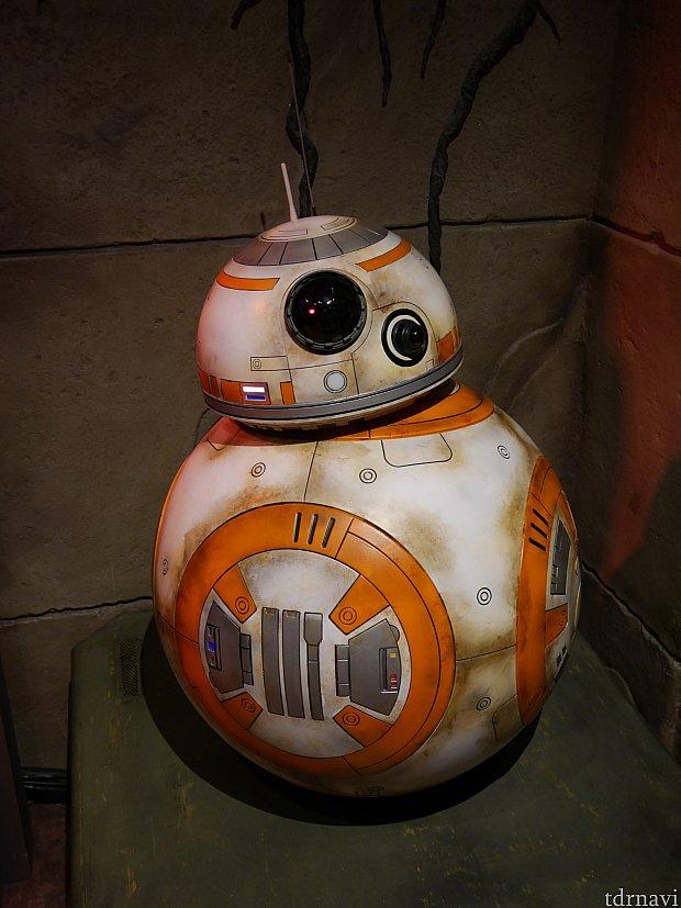 BB-8のグリーティングもはじまりました!