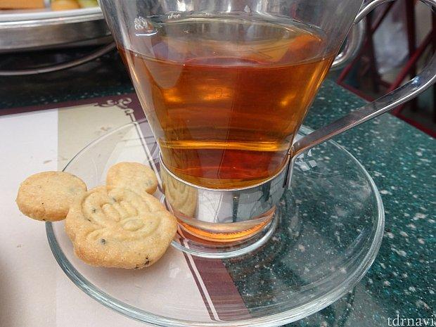 甘くて最後に紅茶を頼んでしまいました…♪