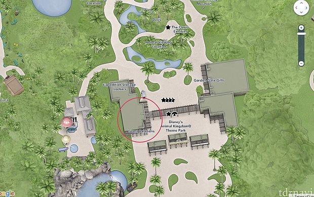 アニマルキングダムのゲストリレーション