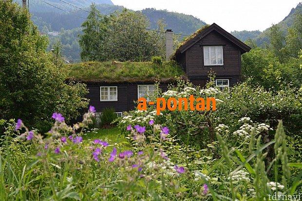ガイランゲルの昔ながらの家