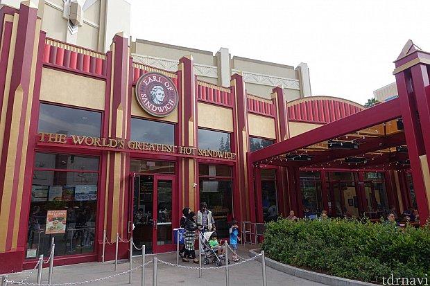 ダウンタウンディズニーのお店 営業時間は7時から23時までやってました!