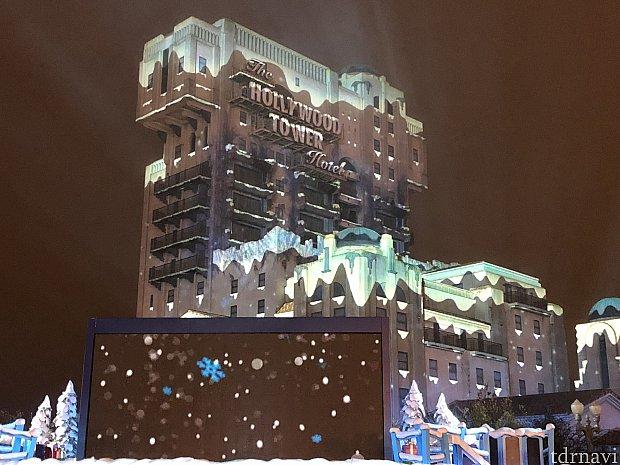 とても綺麗なタワー・オブ・テラーでした
