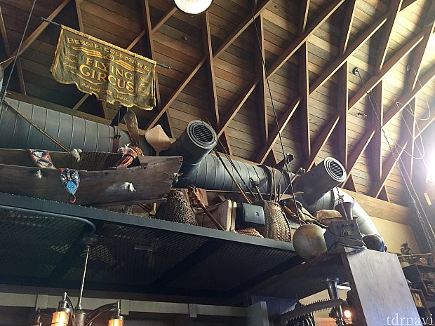 飛行機と釣りが大好きなリンジーのコレクションを見るのも楽しいです。