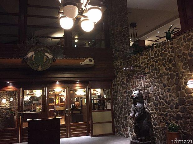 そしてBeaver Creek Tavernレストラン。