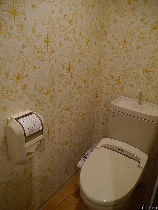 トイレはきちんと個室になっています!