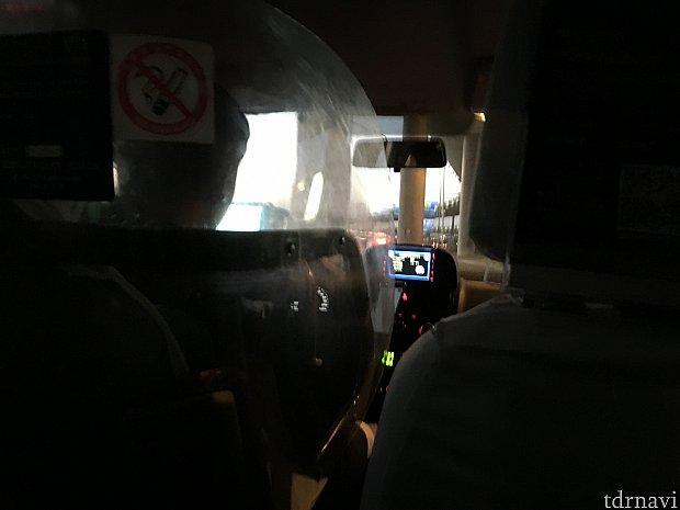 タクシーも無事支払いできました!領収書をもらうのを忘れずに