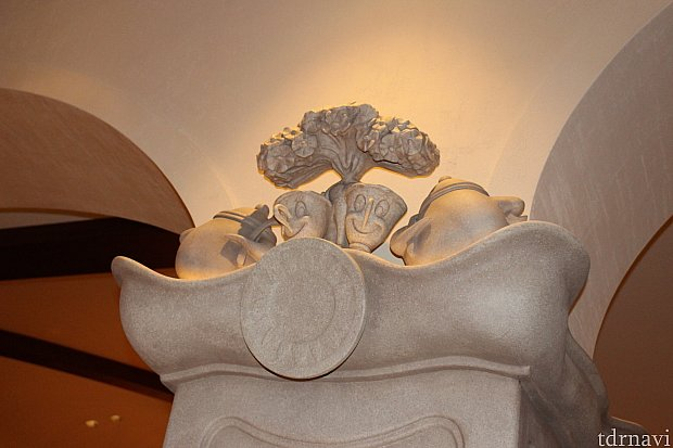 柱の装飾も…♡