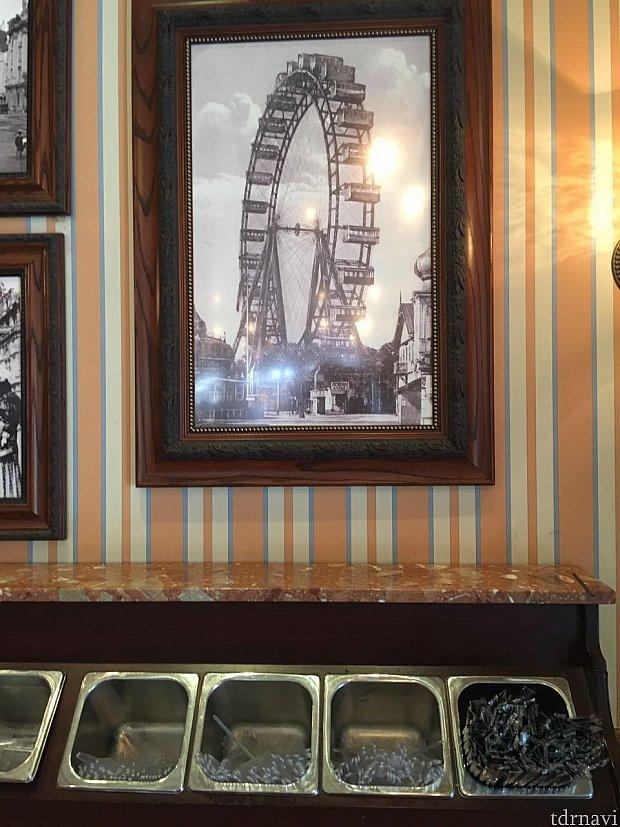 店内に飾ってある写真も雰囲気あります。