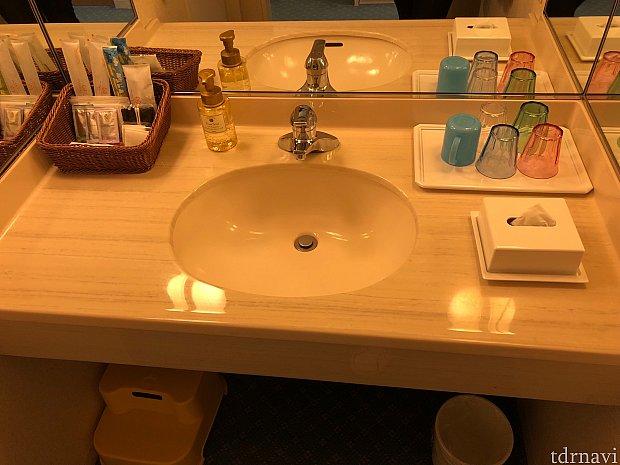 洗面も綺麗ですね