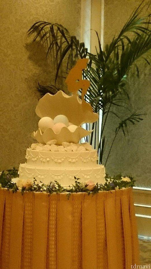 オリジナルウエディングケーキ、パールオブラブ一人1550円