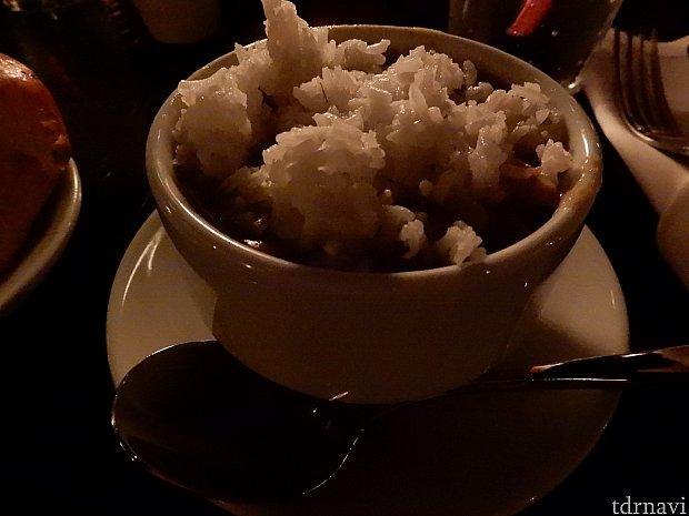 ガンボ・スープ。カレーに似ていました