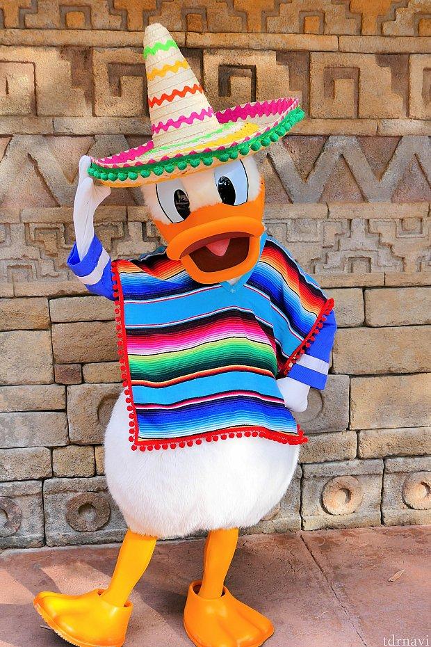 一番会いたかったメキシカンなドナルド(≧▽≦) 16時頃の待ち時間は、30分弱でした。