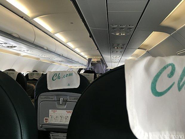 機内はLCCならではの狭さがありますが、時間が短いので気になりませんでした