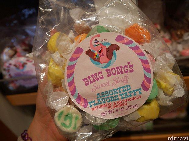 色々な味の盛り合わせ!バナナ味やチョコ味は単品では売っていなかったけれど、この詰め合わせにはそういうのも入ってました!こちらをお土産に買いました!色々と楽しめてお得♪職場とか大人数に渡すお土産によさそうです!