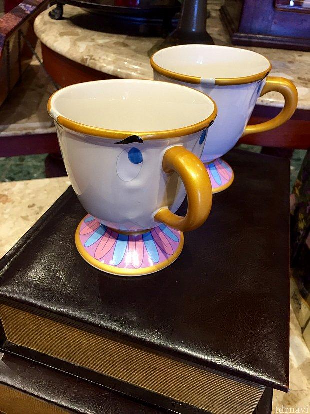 チップのマグカップ。$21.99