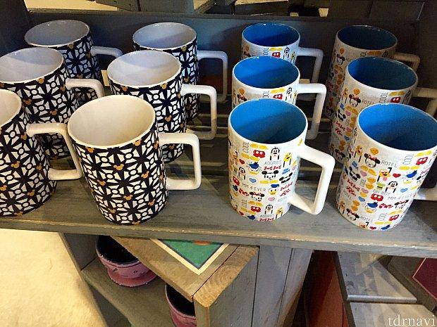 色々な種類が揃っていました。ここに来たらいいセレクションがあるので、お気に入りのマグカップがみつけられそうですね。