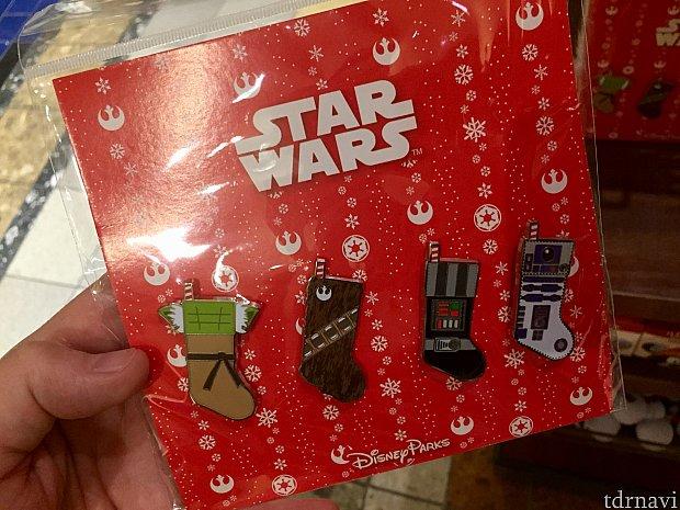 このクリスマススターウォーズシリーズ可愛くありませんか?$27.99。