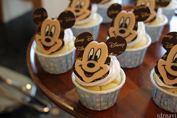 ミッキーのカップケーキ!