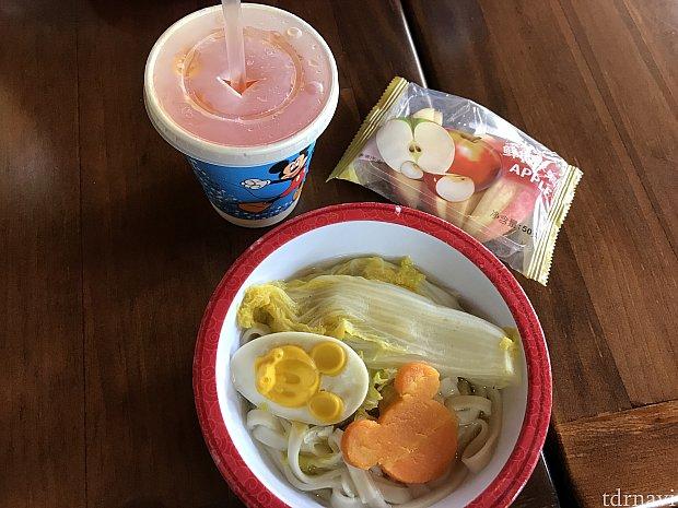 チキン麺子供セット 45元