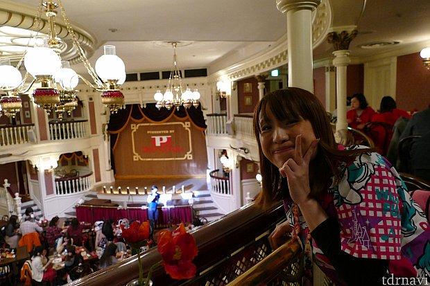 1ヶ月前の予約でとれたのはA席でした!2階席ですがとっても見やすかったし言う事なし!!初めてのミキカン!最終公演に2人でずっとソワソワでした!笑