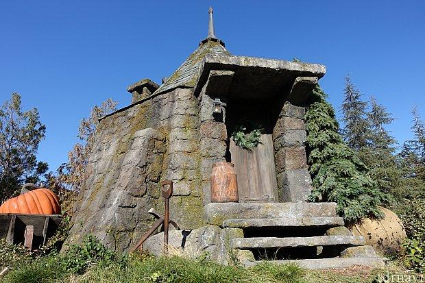 ハグリッドの小屋もあります。