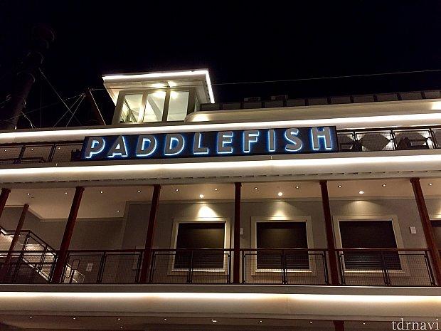 元々フルトンズクラブハウスという、外輪船の高級レストランをリニューアルしてオープンしたのがこのレストランです。