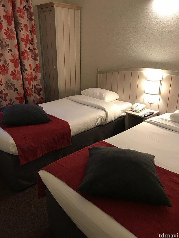お部屋の写真✨これ以外にも二段ベッドがありました!