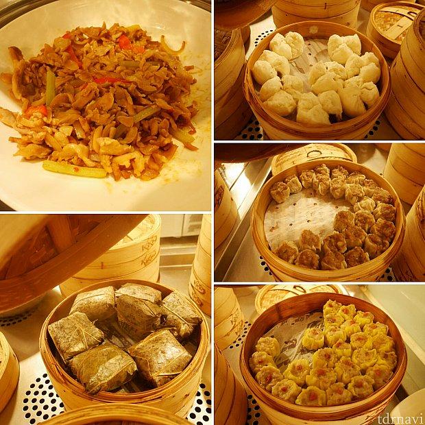 【朝食ブッフェ】中華はもちろんあります!