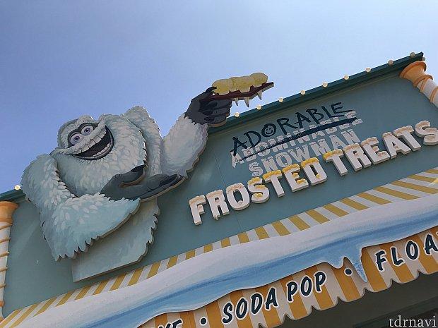 Pixar pierに入って進むと左手に見えてきます☺︎