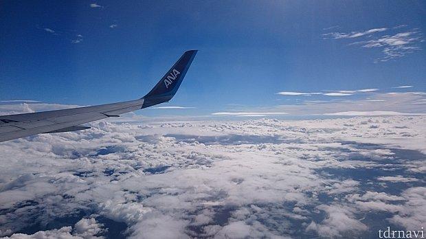 この後無事に関空で乗り換え羽田に到着しました。