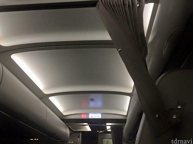 機内の雰囲気です(^o^)