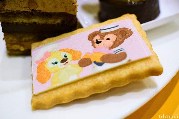 クッキーとダッフィーのクッキー♪