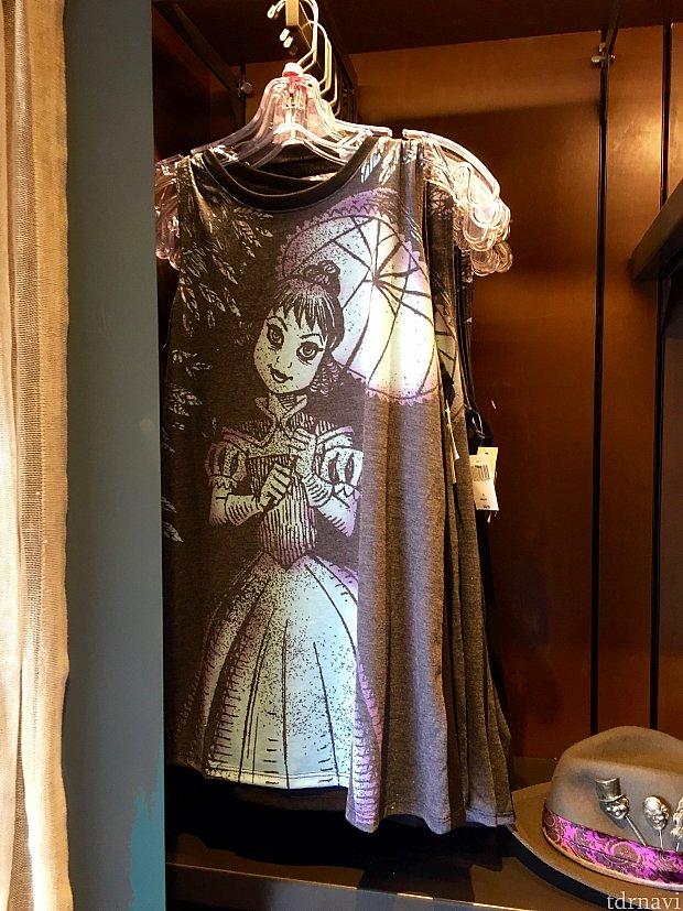 プレショーのストレッチルームで見かける彼女のシャツも。$32.99。