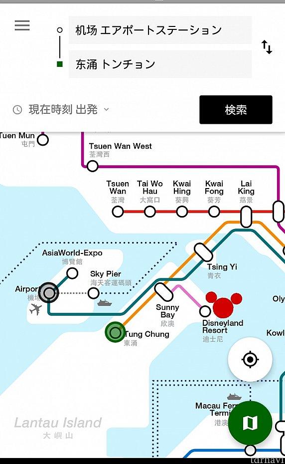 緑丸がホテルのある駅。空港からもディズニーからもほどよい距離。ホテルとディズニーは乗り換えはありますが電車で2駅なので便利! 空港からホテルに向かう場合は、電車だと遠回りになります。