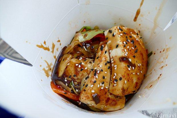 リベンジできた豆腐+スパイシーコリアン!