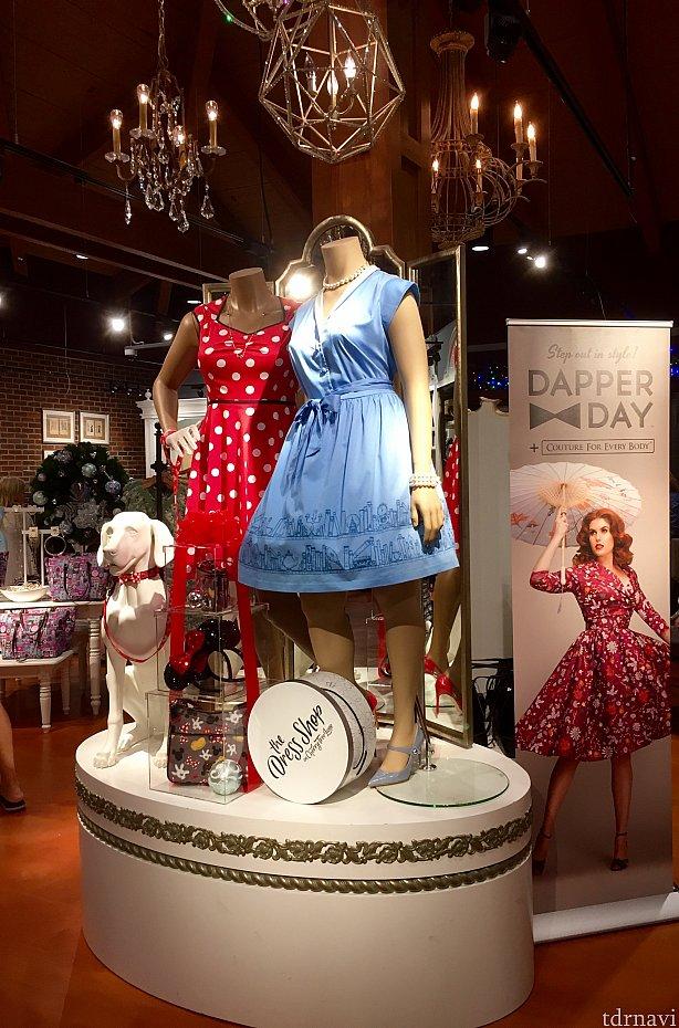 久しぶりのDress Shopのレポートは如何だったでしょうか。Dapper Dayに合わせて特別に多くのラインナップが出ていると聞きました。Dapper Dayの時期にWDWに来られると、レアなデザインのドレスに出会えるかもしれませんね。近日公開予定のDapperDayのレポートもお楽しみに!