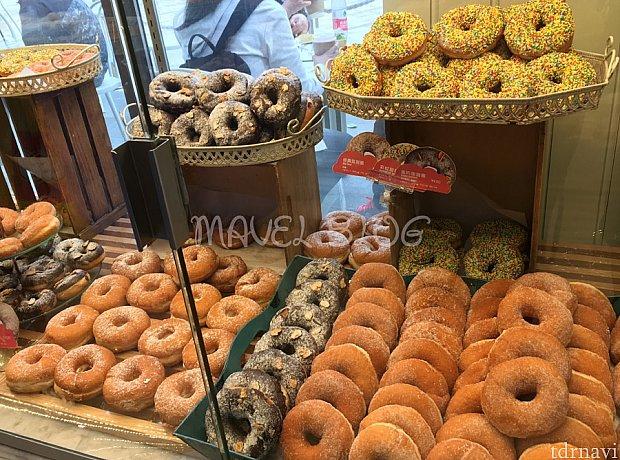 ドーナツもこんなに種類があります!