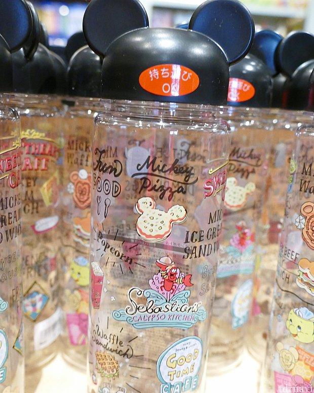 大好きなシリーズのドリンクボトル! キャップがミッキーのお耳になってて可愛い!💖
