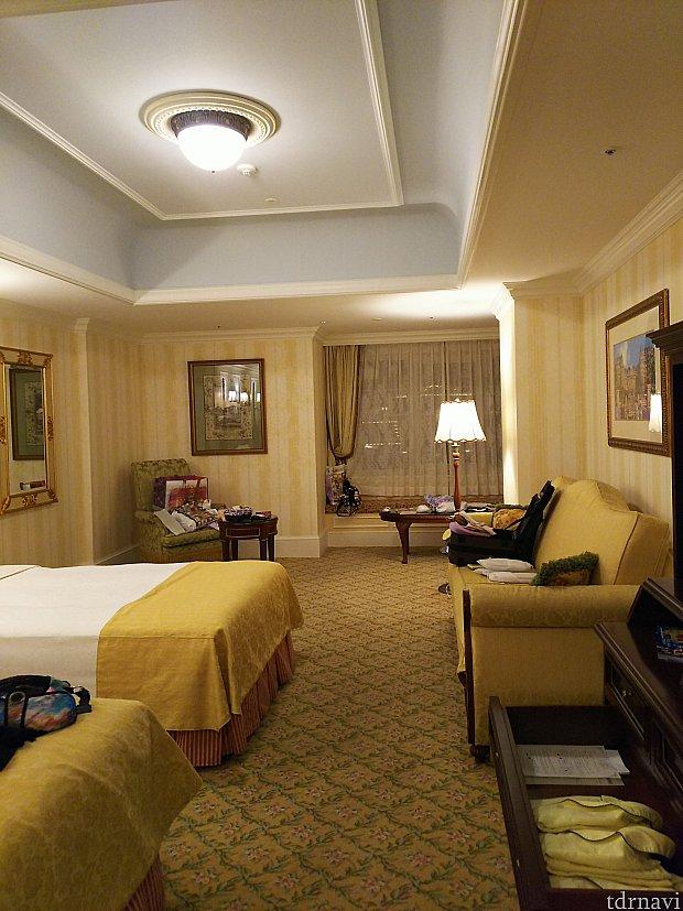 ランドホテルの1室 夢の続きを快適に過ごせます