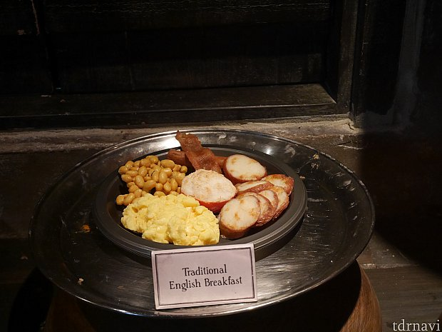 見本があるので選びやすいです✨ 【英国式の朝食】