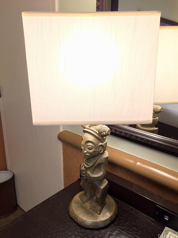 ランプもハワイアン